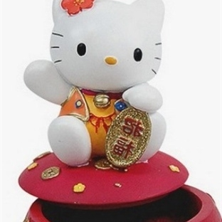 Hello Kitty'li Takı Kutuları