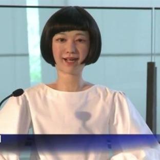 Japonlar Robot Haber Spikeri Yaptı!