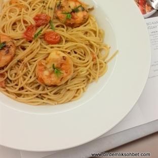 Jumbo Karidesli Tam Buğday Spaghetti