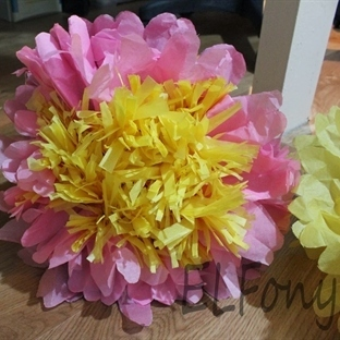 Kağıt Çiçek Yapımı