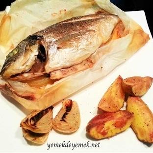Kağıtta Balık (Çipura)