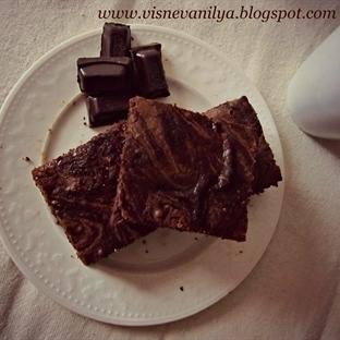 Kahve Kremalı Brownie