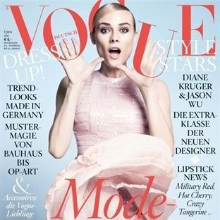 Kapak Kızı: Diane Kruger - Vogue Almanya Temmuz