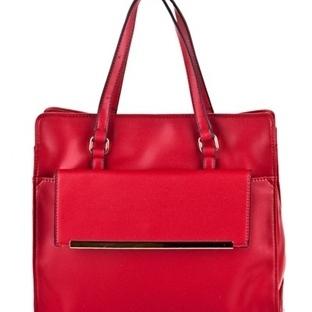 Kırmızı Yazlık Bayan Çanta Modelleri