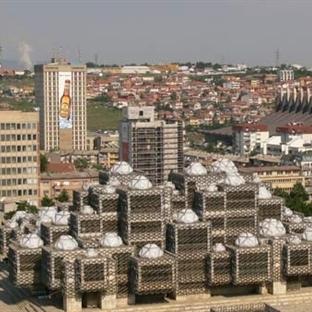 Kosova'nın başkenti Priştine. Vizesiz