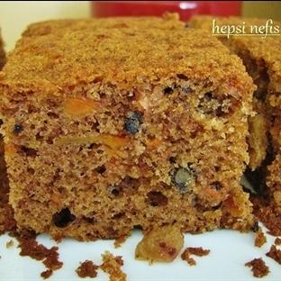 Kuru üzümlü havuçlu sünger kek tarifi