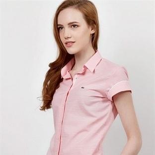 Lacoste Yazlık Bayan Gömlek Modelleri