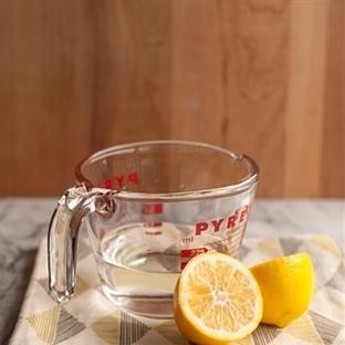 Limon Ile Mikrodalga Nasıl Temizlenir ?