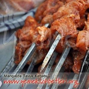 Mangalda Tavuk Kebabı