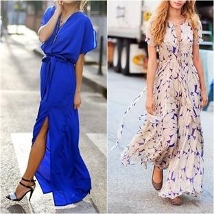 Maxi Elbise Modelleri ve Zarafet