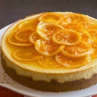 Portakal Halkalı Kek