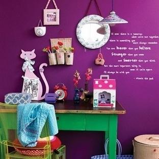 Rengarenk Dekorasyon Fikirleri