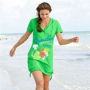 Renkli Plaj Pareo Modelleri
