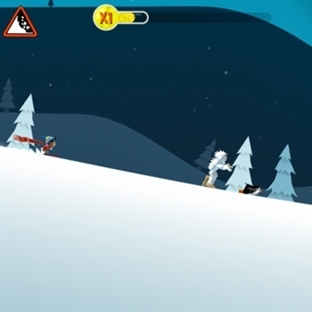 Ski Safari Android Oyunu