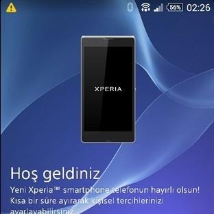 Sony Xperia Z KitKat Güncellemesi Ülkemiz için Baş