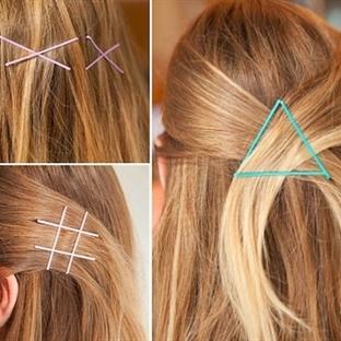 Tel tokalar ile oluşturabileceğiniz saç modelleri