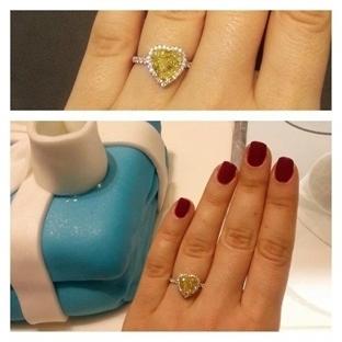 Tiffany&Co ve Sarı Pırlantalar