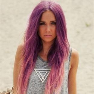 trend çanları çalıyor: deniz kızı saçlar