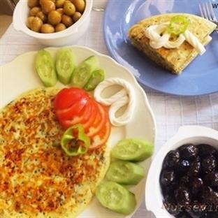 Tuzlu Pancake Kahvaltı Keki
