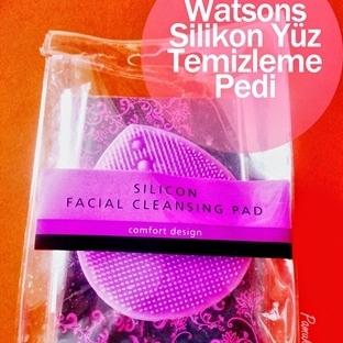 Watsons; Silikon Yüz Temizleme Pedi