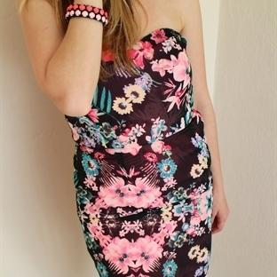 Yazın Trendi; Çiçekli Elbiseler