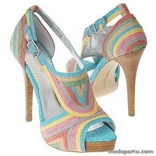 Yazlık abiye ayakkabı modelleri
