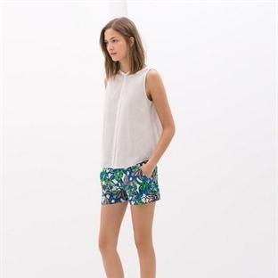 Yazlık bayan mini şort modelleri