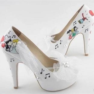 Yazlık Gelin Ayakkabı Modelleri