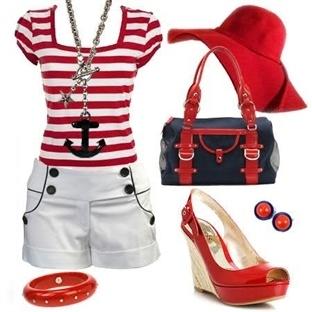 Yeni Trend; Denizci Kıyafetler