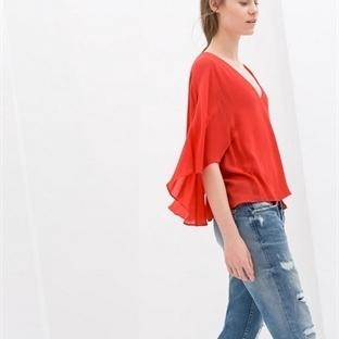 Zara Bluz Ve Gömlek Modelleri