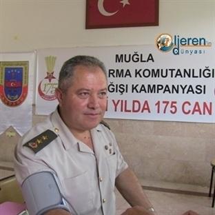 175. Yılda Jandarmadan Kan Bağışı