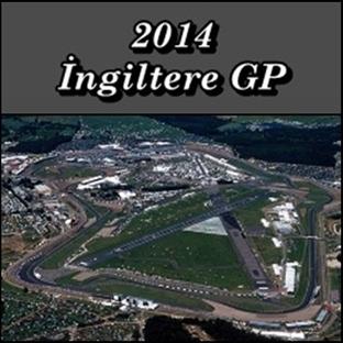 2014 İngiltere GP - Yarış Sonucu