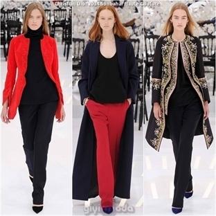 2014 Sonbahar Christian Dior Haute Couture Defiles
