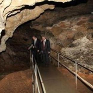 3 milyon yıllık mağaraya ziyaret akını
