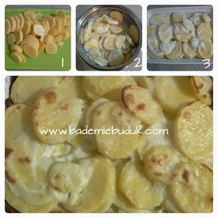 30 dakikada sütlü patates