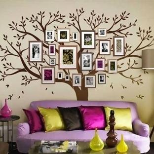 Aile Ağacı Dekorasyonu
