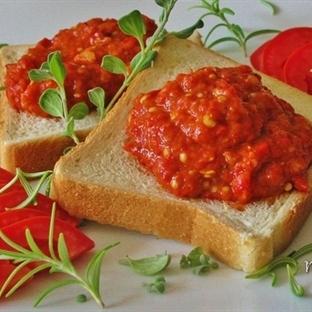 ajvar sos tarifi ve yapılışı