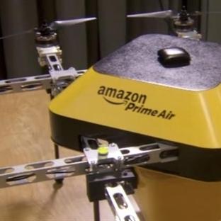 Amazon'dan Verdiğiniz Siparişler Uçarak Gelecek