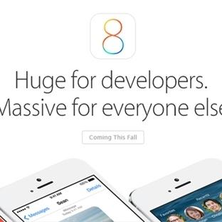 Apple iOS 8′in Detaylarını Açıkladı