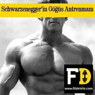 Arnold Schwarzenegger'in Göğüs Antrenmanı