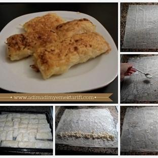 Baklavalık Yufka İle Peynirli Börek Tarifi