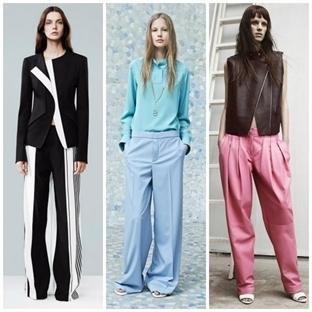 Bol Pantolonlar Nasıl Kombinlenir?