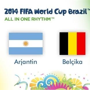 Brezilya 2014 : Arjantin – Belçika Analizi …