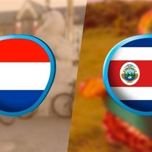 Brezilya 2014 Analizi : Hollanda – Kostarika