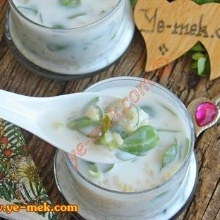 Bulgurlu Semizotu Çorbası (Soğuk Çorba)