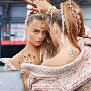 Cara Delevigne Chanel Reklamlarında