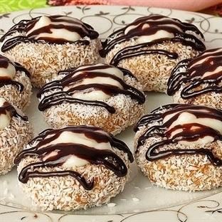 Çikolata Soslu Balkabağı Tatlısı