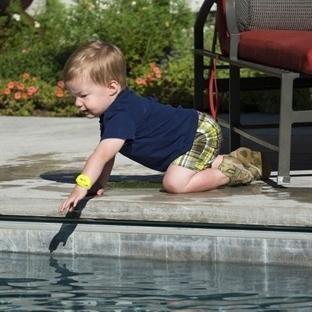 Çocukların Boğulmasını Engelleyen iSwimband