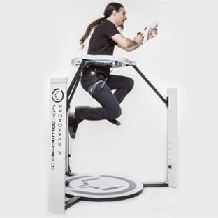 Cyberith ile Oyunlarda Koşabilir, Zıplayabilirsin