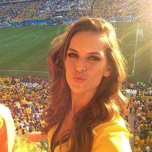 Dünya Kupası'nın Fanatik Güzelleri